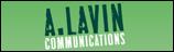 A. Lavin Communications Logo